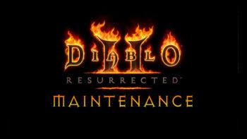 Diablo 2 Resurrected server maintenance