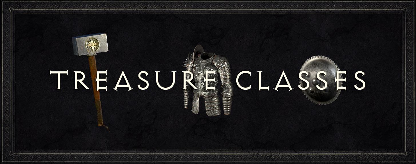 Treasure Class - A Complete List