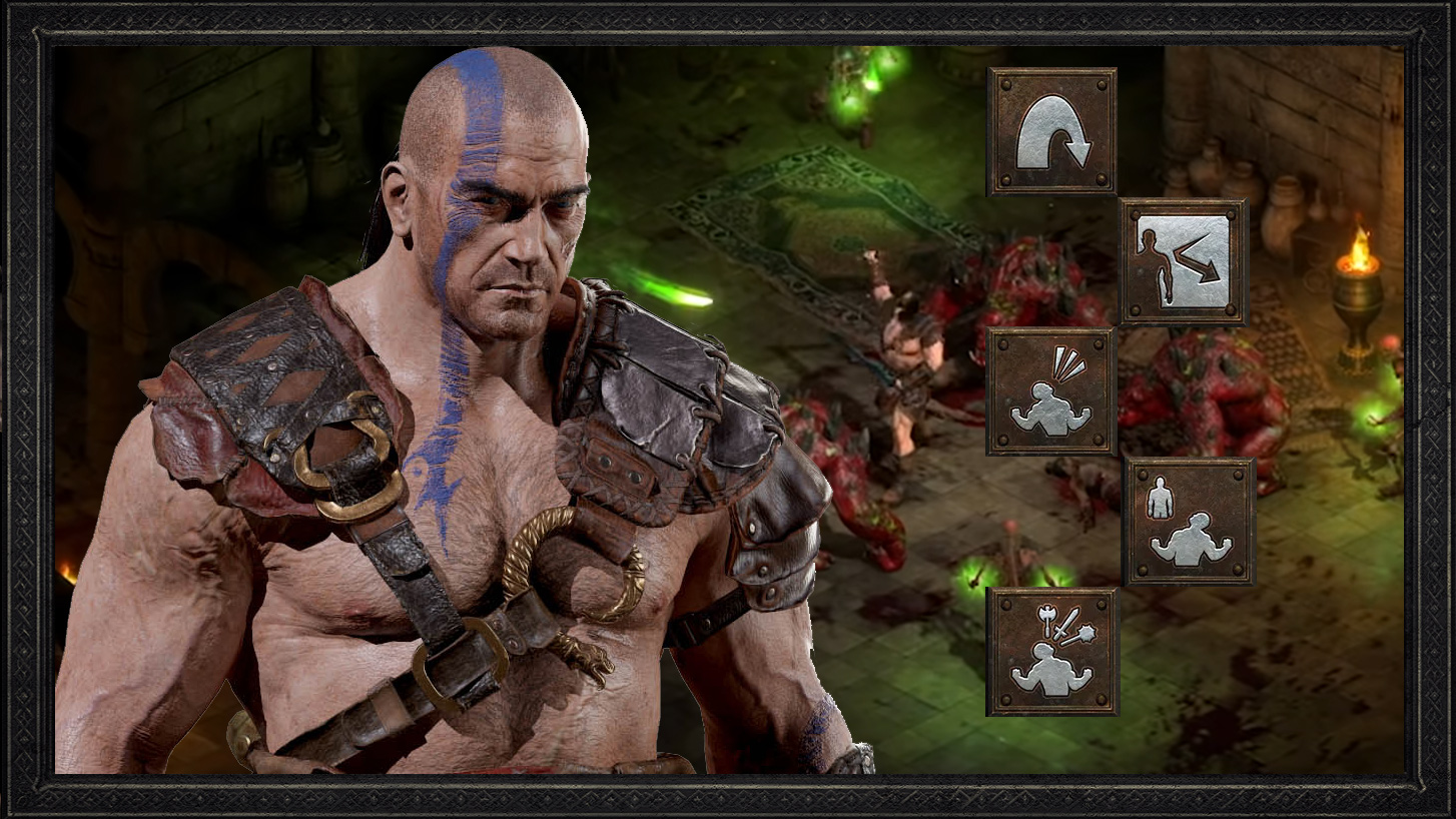 Diablo 2 Barbarian Guide - Berserk / Concentrate / Whirlwind