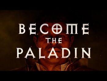 Diablo 2 Resurrected Paladin trailer arrives
