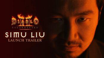 Diablo 2 Resurrected Simu Liu live action trailer
