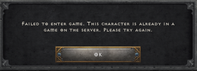 Character in a game bug causing major problems