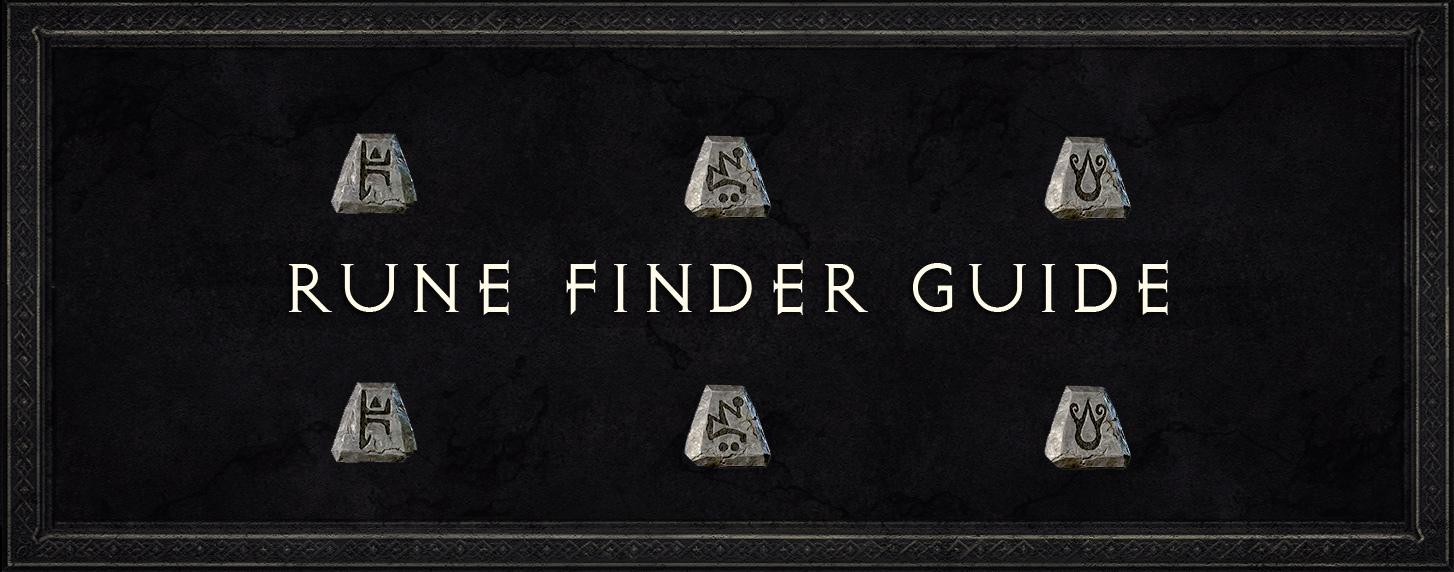 Diablo 2 Rune Finder Guide