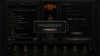 Diablo 2 Resurrected Server and Connection Problems