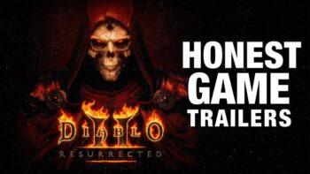 Honest Game Trailers does Diablo 2 Resurrected