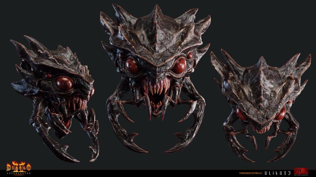 Diablo 2 Resurrected artists share their work